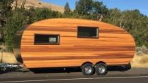 Назад към класиката с дървената каравана Homegrown Timberline
