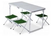 Къмпинг маса с 4 стола PINGUIN