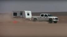 Из рекордите на Гинес: Най-бързо теглене на каравана