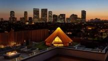 Супер луксозен градски глемпинг в Бевърли Хилс