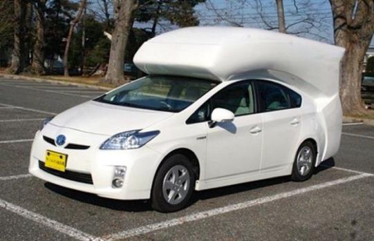 Toyota Prius campervan