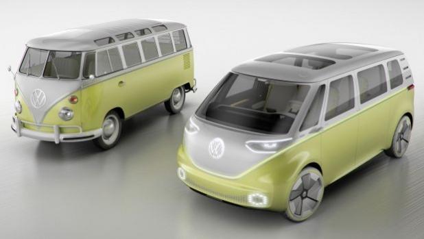 Фолксваген пуска в производство наследника на легендарния хипи ван