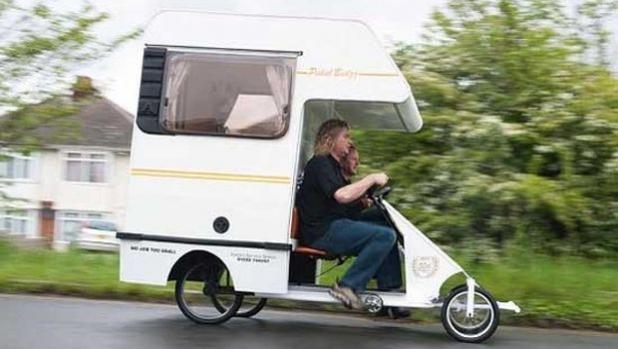 Велокемперът Pedal-Bedzz
