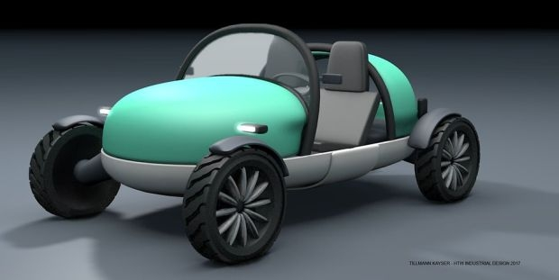 Dandelion - надуваем автомобил за кемпера или караваната