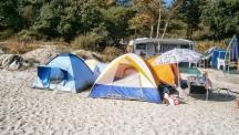 Масови проверки в Гърция за диво къмпингуване
