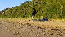Кой закон забранява къмпингуването на плажа?
