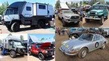 Пикапи, джипове, ванове, камиони и други къмпинг возила на Overland Expo West 2018