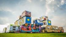 Снимка на деня: Zuiderveen арт фестивал в Холандия