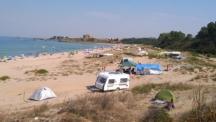 Готвят забрана на каравани, палатки и хавлии върху дюни