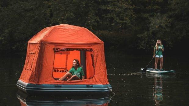 Shoal Tent - къмпирайте във водата
