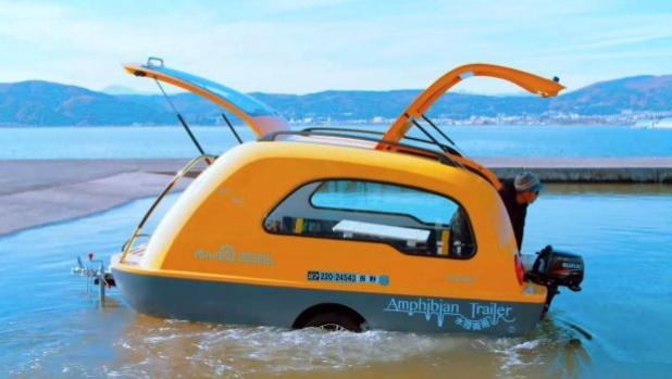 MiniBig - каравана-лодка от Япония