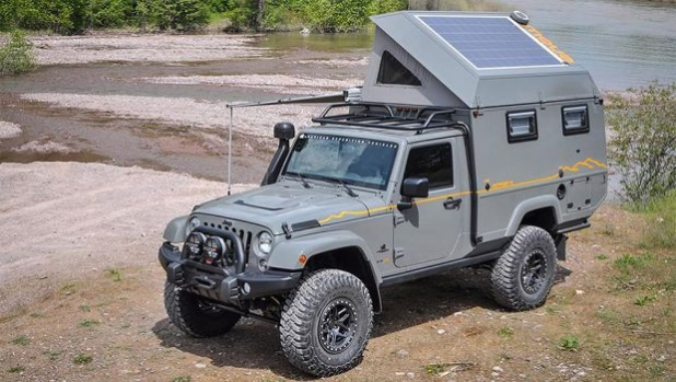 И Jeep Wrangler с къмпинг версия