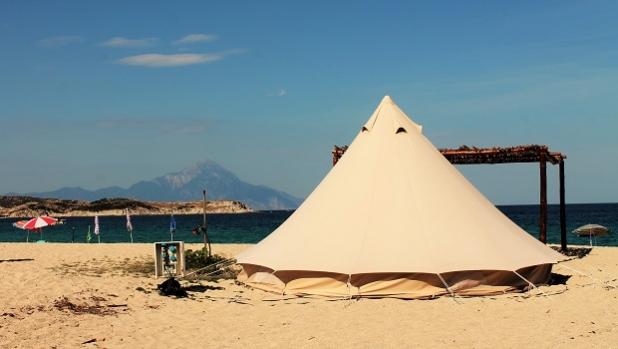 Българите предпочитат почивка на глемпинг в Гърция през 2018 г.