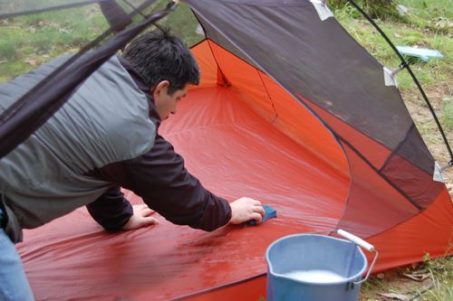 Грижи за палатката