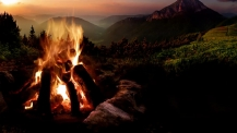 Как да запалите огън без да оставяте следи върху природата