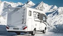 Hymercar Grand Canyon S 4×4: снежен тест на проходимия кемпер