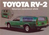 Toyota RV-2 - един нереализиран спортен кемпер