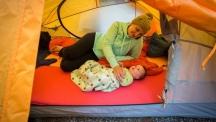 На къмпинг с бебе