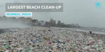 Почистването на най-мръсния плаж в света
