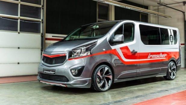 Irmscher преобрази Opel Vivaro в спортен кемпер