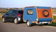 Carapate - мини-каравана с яхтен дизайн от Франция