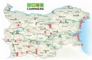 Die neue Campingkarte von Bulgarien 2019 wurde herausgegeben