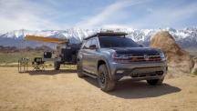 Volkswagen Atlas Basecamp Concept беше представен на автосалона в Ню Йорк