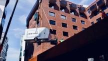 Видео на деня: Къмпинг на покрива на хотел в Хамбург