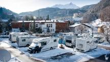 На ски из Европа с кемпер 2018/2019