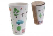 Чаша от пресован бамбук