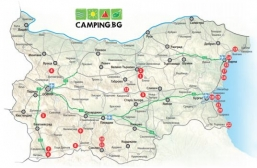 The new Camping Map of Bulgaria 2019 was issued