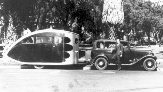 Снимка на деня: Airstream Torpedo 1932