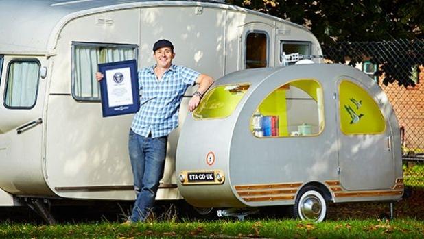 Из рекордите на Гинес: Най-малката каравана на света