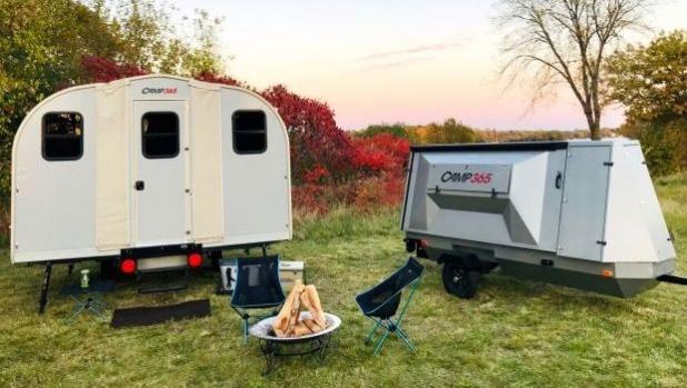 Оригами караваната Camp365