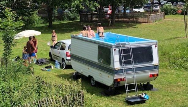 Да превърнеш каравана в басейн