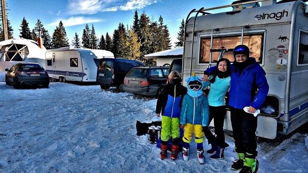 На ски с кемпер или каравана в България