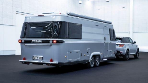 Новата ERIBA Touring 820 със 180-градусова панорама