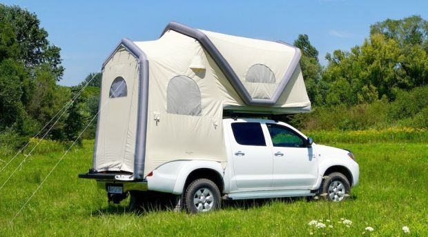 GT Pick-up: Надуваема палатка за пикапи