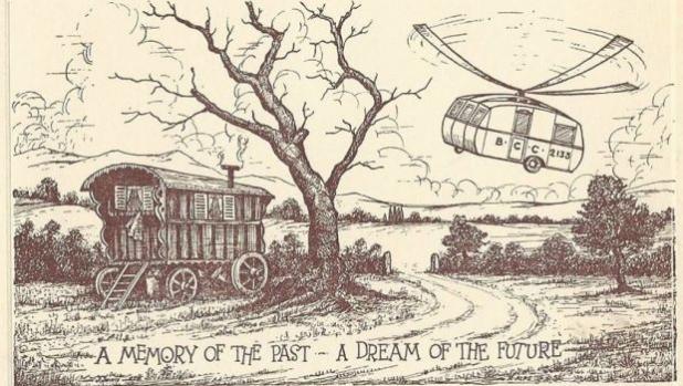 Карикатура на деня: Поглед в бъдещето от 1955 г.