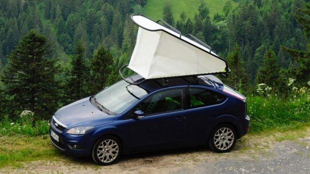 Нов прототип на бюджетна покривна палатка