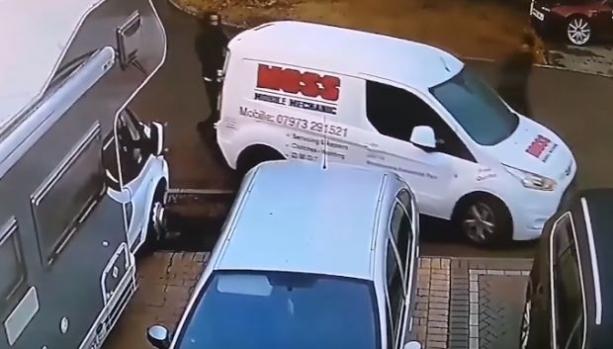 Как се краде кемпер в Англия (видео)