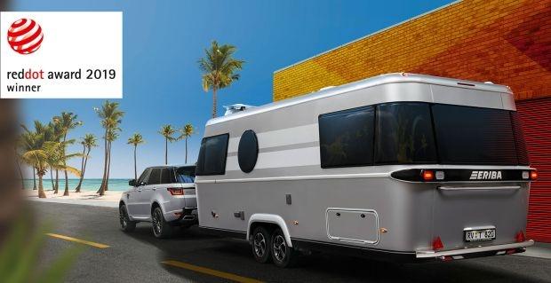 ERIBA Touring 820 спечели престижна награда за дизайн