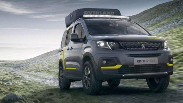 Peugeot Rifter 4x4 Camping