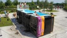Да превърнеш автобус в басейн