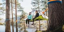 Tentsile с трето поколение дървесни палатки