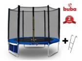 Buba детски батут 244 см с мрежа и стълба