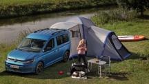 Новото VW Caddy California - с кухня, панорамен таван и удобства за пътешествия