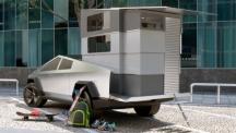Tesla Cybertruck с конверсия в кемпер