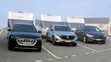 Tesla Model X бие Mercedes-Benz EQC и Audi e-tron в тест за теглене на каравана