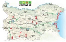 Camping.bg започна работа по къмпинг картата на България за 2020 г.